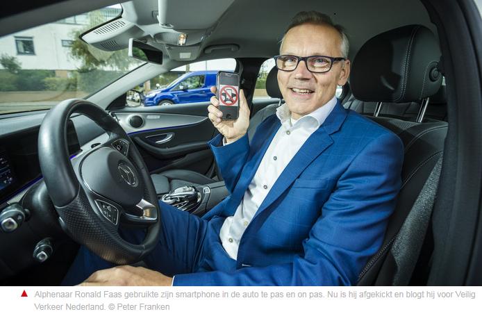 INTERVIEW - IK RIJD SMART ZONDER PHONE - RONALD FAAS